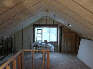 Attic Spray Foam Insulation